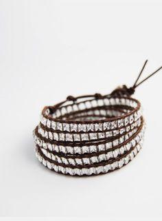 Chan Luu wrap bracelet. I am in love.