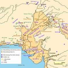 Indus Valley Civilization is least known among the 4 ancient civilizations of the world. Check out these lesser-known facts about Indus Valley Civilization. Bronze Age Civilization, Indus Valley Civilization, Cradle Of Civilization, Egypt Civilization, Ancient Indian History, History Of India, Mohenjo Daro, Harappan, Geography Map