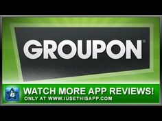 Groupon iPhone App - Shopping iPhone App - App Reviews #iphone #apps #appreviews #IUTA