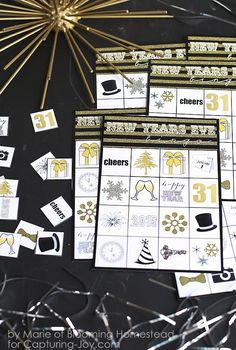 diy printable party game by blooming homestead