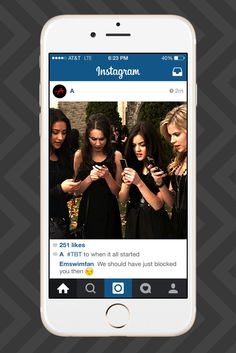 "If ""A"" From Pretty Little Liars Had Instagram"