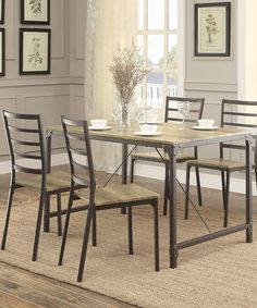 Love This Five Piece Jamison Dinette Set By Inspire Q On #zulily! #