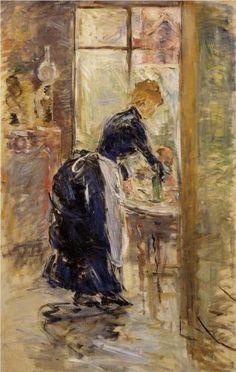 The Little Maid Servant - Berthe Morisot, 1886