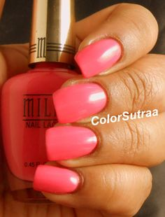 MILANI Spring 2014 collection : Swatches and Review (PART II) Splendid Strawberry