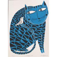 Happy Cat | Mina Braun
