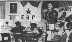 El Ejército Revolucionario del Pueblo (ERP) fue una organización guerrillera argentina, que constituyó la estructura militar del Partido Revolucionario de los Trabajadores, de orientación marxista, liderado por Mario Roberto Santucho durante la década del 70. Hacia principios de 1977 fue desarticulado por las Fuerzas Armadas, luego del Operativo Independencia (1975) y del accionar represivo de la dictadura autodenominada Proceso de Reorganización Nacional. 1975, Mario, War, Armed Forces, Human Rights, Military, Emperor