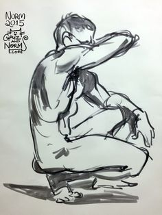 Figure Drawing, 3 min. pose