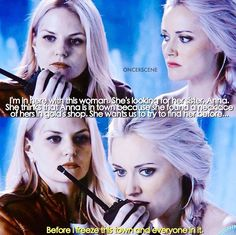Before I freeze this town and everyone in it / Emma & Elsa / 4.02