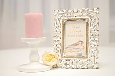 Love messages in vintage frames. Romantic ideas for weddings.