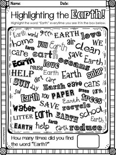 EARTH DAY is April 22nd! #earthday