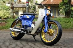honda c70 modified
