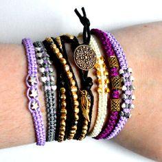 Bracelet stacking from: https://www.etsy.com/uk/shop/JewellerybyRej?ref=hdr_shop_menu
