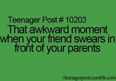 OMG so awkward