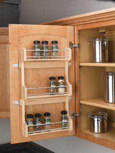 "Rev-a-Shelf Door Mount Spice Rack for 18"" Wall Cabinet"