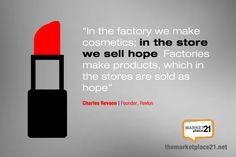 What is your equivalent of selling hope? That's the definition of your brand! #ThinkLikeABrand #Branding