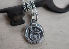 35.00 Rose Necklace, Dog Tag Necklace, Pendant Necklace, Grey Roses, Silver Roses, Tudor Rose, Necklace Chain Lengths, Wax Seals, Silver Necklaces