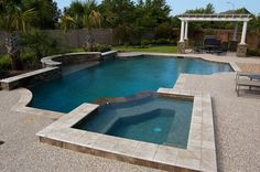 Swimming Pool Galleries - Cypress Custom Pools