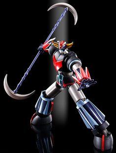 Figurine Goldorak SRC et Spazer Kurogane Finish Lucky Luke, Hanna Barbera, Gundam, Toy People, Super Robot, Great Tv Shows, Fan Art, Action Figures, It Is Finished
