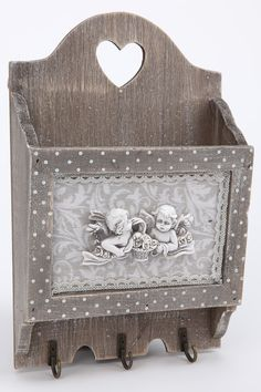 Купить Ящик для писем с крючками LA NEIGE LN-6057 СЕРЫЙ, БЕЛЫЙ со скидкой в интернет-магазине kupivip.ru - распродажа