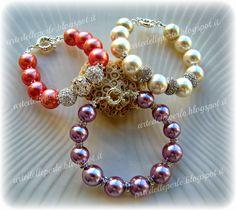 """L'Arte delle Perle: Bracciali """"Glamour"""""""