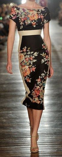 Alex Perry | Spring Fashion | Floral Dress