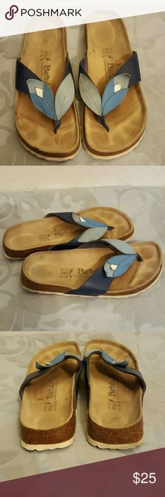 Betula by Birkenstocks sandals Like new Betula sandals only work a couple of times great condition mostly Dusty from sitting in the closet Betula by Birkenstock Shoes Sandals