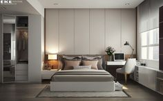 Have you been searching for bedroom ideas that look casual but feel luxurious? These designs by Eke Interiors are sure to inspire. Rather than stealing the show