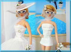 *Pool Party Bride*~OOAK Fashion Silkstone Barbie/Fashion Royalty Dolls~Joby