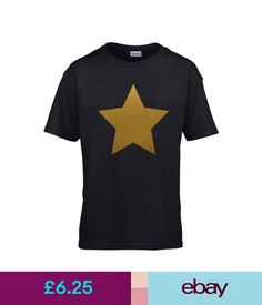 GOLD STAR Boys T-Shirt 3-14 yrs Printed Christmas Xmas Nativity Play Costume