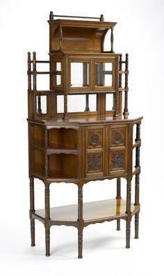 Edward William Godwin - Display cabinet