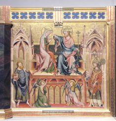 Coronation of the Virgin, 1330-1331, Master of the Verdun Altar, Vienna