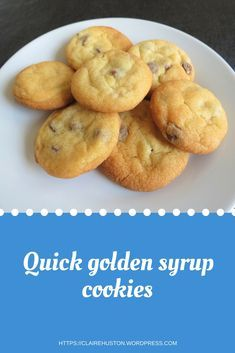 A quick, easy recipe for golden syrup cookies. This recipe can easily be made vegan too. A quick, easy recipe for golden syrup cookies. This recipe can easily be made vegan too. Bbc Good Food Recipes, Easy Cookie Recipes, Sweet Recipes, Baking Recipes, Yummy Food, Kids Biscuit Recipes, Sweet Biscuit Recipe, Quick Dessert Recipes, Tasty