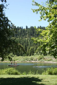Keeping cool on the Moyie River