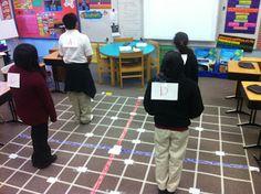 Ramblings of a fifth and sixth grade teacher....: Carpet Coordinate Plane