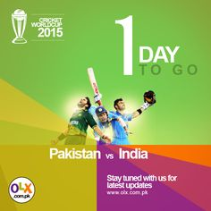 Only 1 day to go!!
