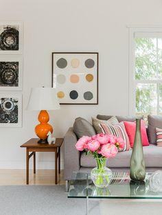 Aposte em vasos na hora de decorar! Eles são super charmosos e deixam o ambiente decorado com muito estilo! 😀