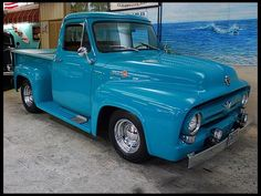 1955 Ford F100 Pickup - I find a lot of pick-up trucks impressive, but I think the F100 has to be one of the nicest.