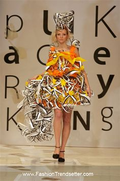Successful Recycling Fashion Show From Sapu | Fashion Trendsetter