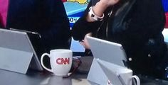 Last night, CNN wasn't just covering the mid-term elections. It was also pimping the Surface Pro 3, conspicuously placing a kickstand-ed unit in front of a bunch of its commentators. The catch? They were actually just being used as iPad stands.