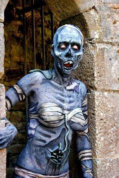 Mummy ~ Body Art by Brian Wolfe Skin Wars, Horror Makeup, Face Art, Face And Body, Art Blog, Creative Art, Character Design, Character Makeup, Cool Art