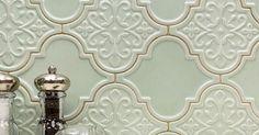 Handmade Tiles, Backsplash Ideas, Kitchen Tiles, Kitchens, Ceramics, Mirror, House, Inspiration, Furniture