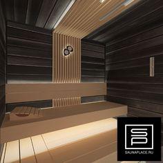 #sauna #designsauna #сауна #чернаясауна Design Sauna, False Ceiling Design, Blinds, Basement, Spa, Stairs, Modern, Instagram, Home Decor