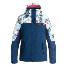 8af1e97786 Roxy Jetty Block Snowboard Jacket - Womens
