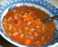 Make and share this Portuguese Red Bean Soup recipe from Food.com.