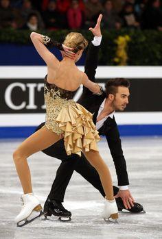 Gabriella Papadakis & Guillaume Cizeron (Photo by John Berry/Getty Images)