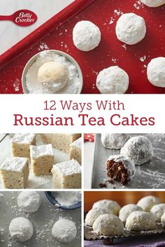 10 Russian Tea Cakes Recipes Ready to Rock It Around the Christmas Tree Spritz Cookie Recipe, Spritz Cookies, Christmas Appetizers, Christmas Treats, Chocolate Chunk Cookies, Chocolate Art, Butter Shortbread Cookies, Best Christmas Cookie Recipe, Mexican Wedding Cookies