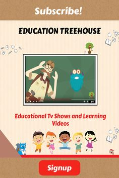 Education Treehouse is a Great kid-safe platform online to safely watch Educational videos and Learning Tv shows, in the classroom, at home or on your smartboard or smart tv. Educational Websites For Kids, Educational Videos, Educational Technology, Kids Education, Special Education, Treehouse, Fun Learning, Elementary Schools, Smart Tv