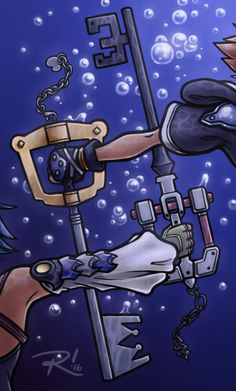 Sora and Aqua--THIS IS AMAZING!                                                                                                                                                                                 More