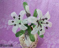 Tutorial белая лилия