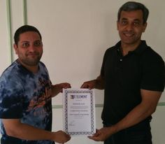 Congratulations Ashish Dabholkar - on receiving your Prestigious Licensed Trainer of Emotional Fitness Gym Certificate  NLP Training from Anil Dagia - India's Most Innovative NLP Trainer  Next ICF + NLP Dual Certification Life Coach Training (India) - Pune - June :- http://www.anildagia.com/events/262